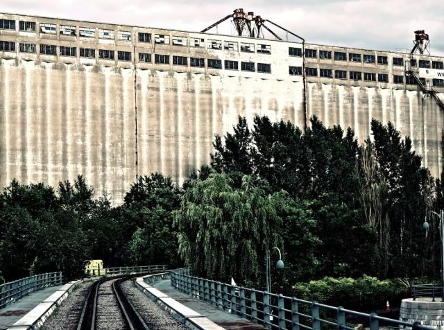Élévateur à grains n° 5 (Bâtiment patrimonial) - Vieux-Montréal, Juillet 2013