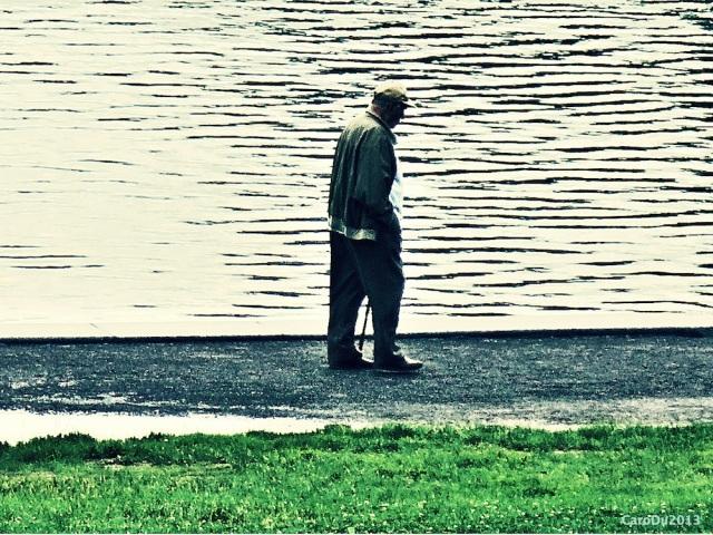 Le lac aux Castors a retrouvé son eau. Du bonheur. (Montréal, Juillet 2013)