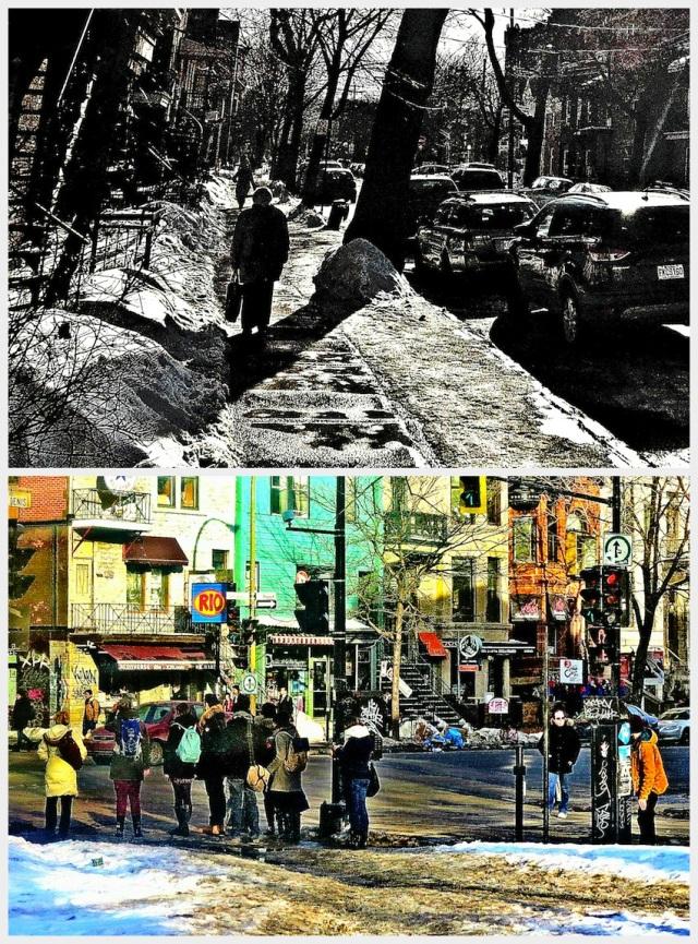 ET LA LUMIÈRE FUT - Mars 2015, Montréal