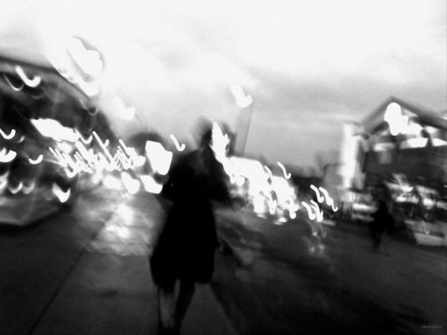 SOIR DE PLUIE  Rue D'Iberville, novembre 2015