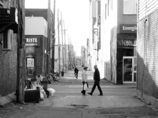 ruelle St-Hubert au printemps 2