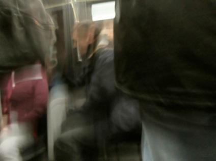 L'homme dans l'autobus