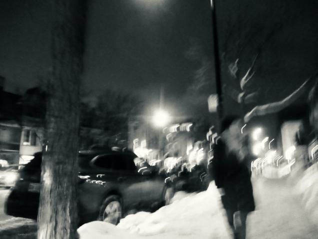 Les trottoirs blancs